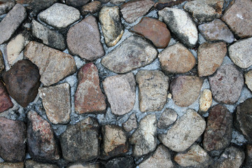 background made of a closeup of a stones pattern floor