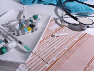 déchets médicaux, après consultations,tri sélectif