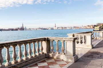 Vista su piazza San Marco dall'Arsenale. Venezia,Italia