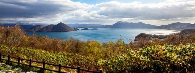 Lake Toya Hokkaido,Japan