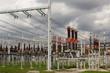 Electricity distribution station