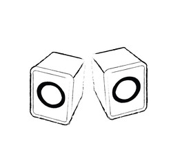 isolated small loudspeakers