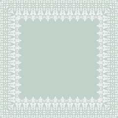 Damask  Pattern. Orient Background