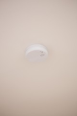 Close up of fire detector