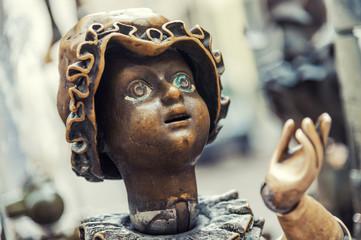 Brunnenfigur Mannequin