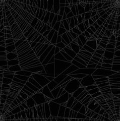 white thin webs background