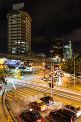 Kuala Lumpur traffic at night