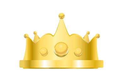 royal golden crown vetor illustration
