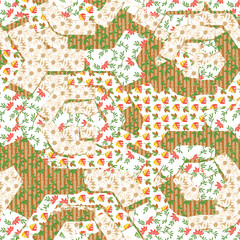 Patterned creative texture