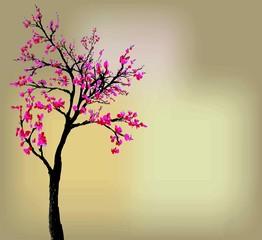 estampe rose