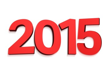2015 in red letters
