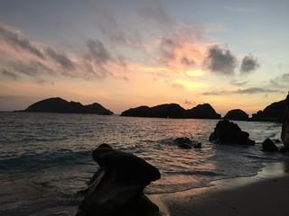 沖縄の夕焼け