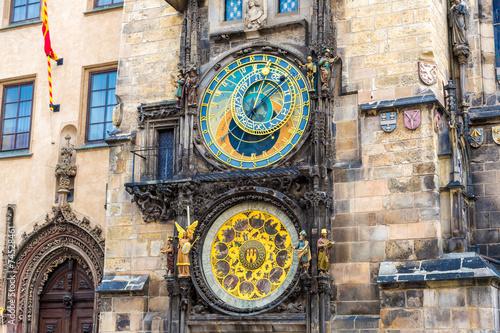 Aluminium Praag Astronomical Clock. Prague.