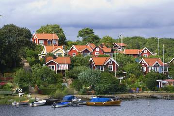Ferienaussiedlung an der Südschwedischen Küste
