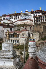 Ganden Monastery in Tibet - China