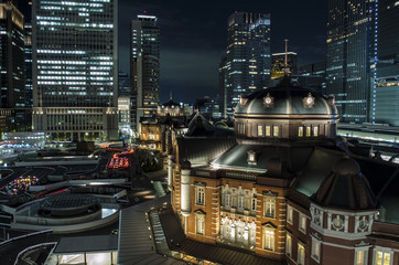 Tokyo Sation By Night