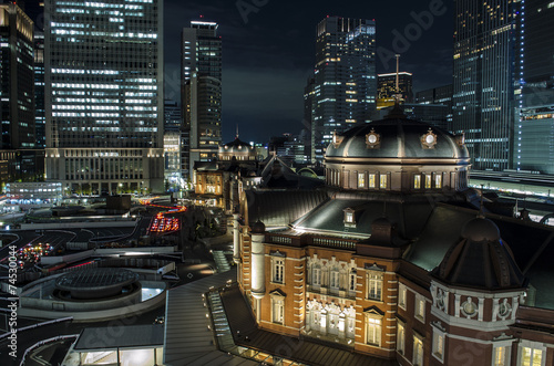 Tokyo Sation By Night - 74530044