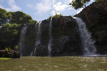 cascades de ampefy a Madagascar