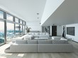 Modern Residence Living Room Style