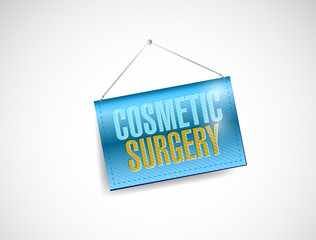 cosmetic surgery hanging banner