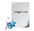 weight loss paper sign message