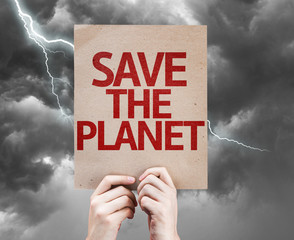 Save The Planet card on a bad day