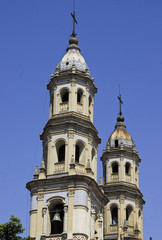 San Telmo church towers
