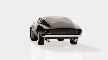 Unique sports car