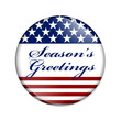 Season's Greetings USA Button