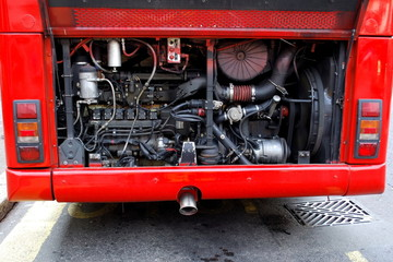 Bus engine