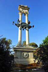 Monumento a Cristóbal Colón, Sevilla, España