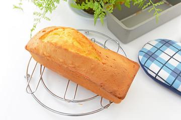 おいしそうなパウンドケーキ