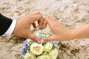 Hochzeitskarte - Liebe
