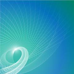 Vector blue contemporary background