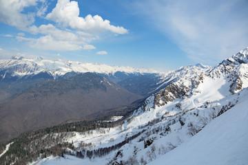 Aibga Ridge, Krasnaya Polyana, Sochi