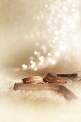 Geschenkband Weihnachtsstimmung