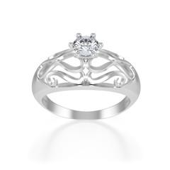 nice ring with diamond