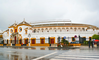 The oldest bullfighting arena