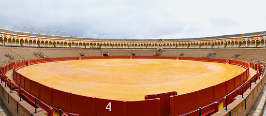 Panorama of the bullring