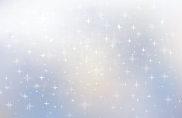 Vector stars background.