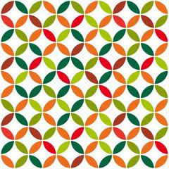 Vintage Seamless Circles Pattern
