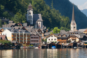 Old town of Hallstatt