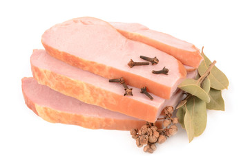 boiled pork with spices