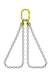 Cargo strapping: metal chain