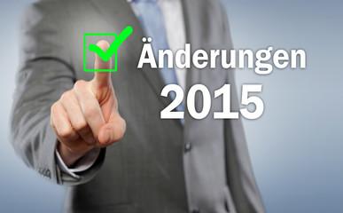 Änderungen 2015