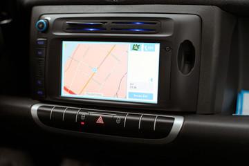 Navigationssystem eines PKWs