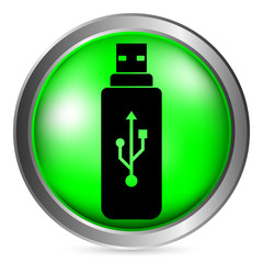 Usb flash button