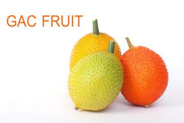Gac fruit, Baby Jackfruit,isolate