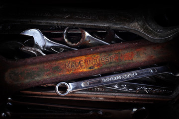 Old Tools. Spanners