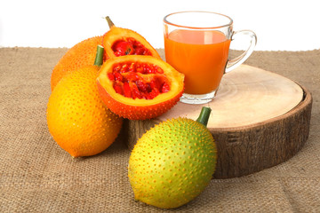Gac fruit, Baby Jackfruit and juice